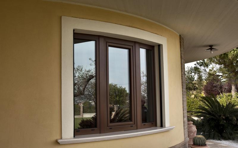 Infissi alluminio legno milano italport produzione e vendita infissi porte e finestre milano - Finestre legno e alluminio ...