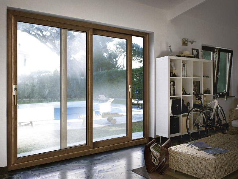 Infissi alluminio legno milano italport produzione e vendita infissi porte e finestre - Porte in alluminio per esterni prezzi ...