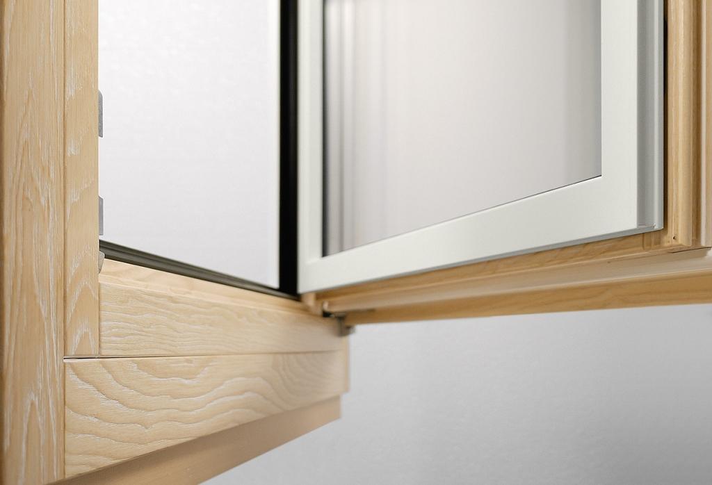 Infissi legno alluminio milano italport produzione e for Infissi in legno bianco