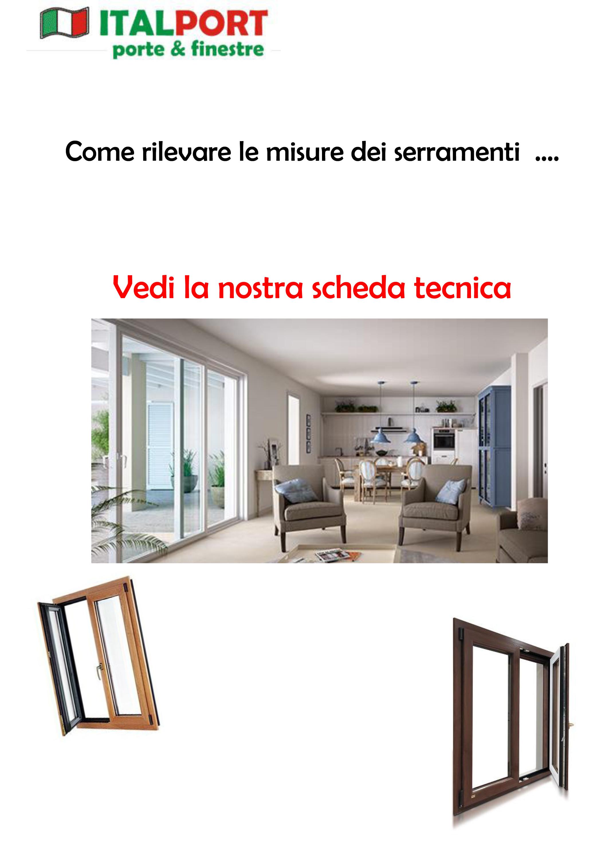 Misure finestre standard great misure finestre spogliatoio duylinh for with misure finestre - Finestre pvc misure standard ...